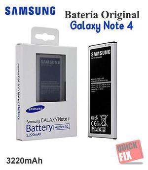 Bateria Samsung Galaxy Note 4 N Mah Caja Original