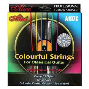 Cuerdas De Color Para Guitarra Acústica De Nylon