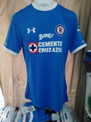 Jersey Cruz Azul Azul  Original Caballero