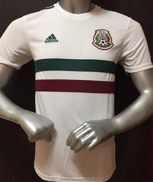 Jersey Mexico Rusia  Visita Blanca adidas Clima Lite