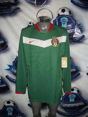 Jersey Original Nike Selección Mexicana Mundial  Larga