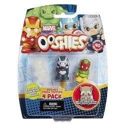 Ooshies Super Heroes Dc Comics Batman Aquaman 4 Pack Fig