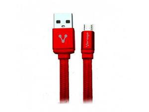 Cable V8 Usb A Micro Usb Datos Carga Vorago Cab-113 Rojo