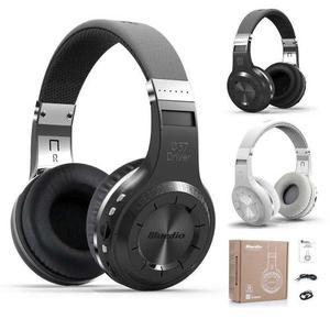 Promo Audifonos Bluedio Turbine H+ Negro Bluetooth Fm Sd 40h
