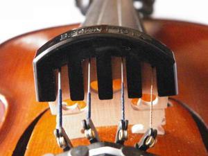 Sordina De Caucho Para Violin Ensordece Hasta 80%