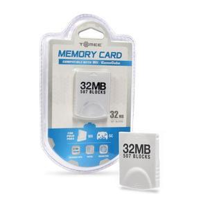 Tarjeta De Memoria Wii / Gamecube 32mb (507 Blocks) [electr.