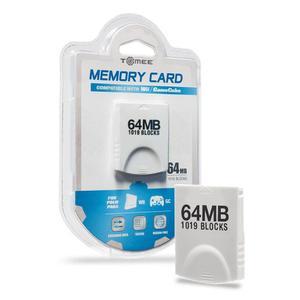 Tarjeta De Memoria Wii / Gamecube 64mb ( Blocks)