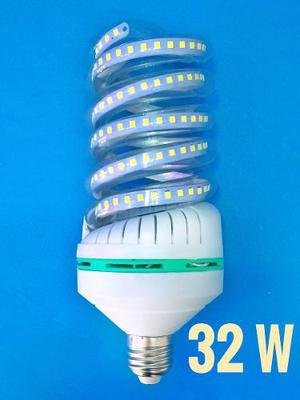 Foco Led Espiral 32 W  Lumens Luz Blanca Ultrabrillante