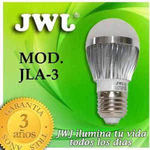 Jwj Foco De Led 3w Base E Kº Luz Cálida
