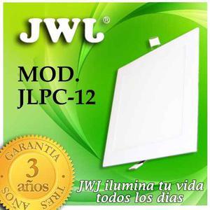 Jwj Plafon De Led Empotrable 12w  K° Luz Blanca