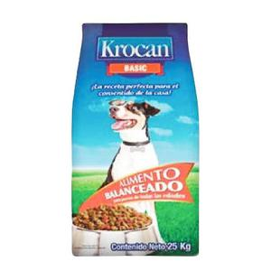 Krocan Basic Alimento Para Perro Bulto 25kg