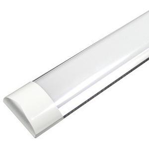 Lote De 4 Tubos Led Doble Ancho Opalina 36w  Aluminio