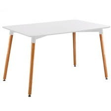 Mesa Eames 120cm Color Blanco - Buen Fin!! By Arei Design!!
