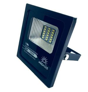 Reflector Led 10w Exterior Megaluz Aluminio No Lamina