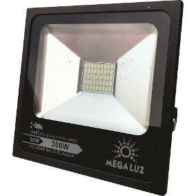 Reflector Led 30w Exterior Megaluz Aluminio No Lamina