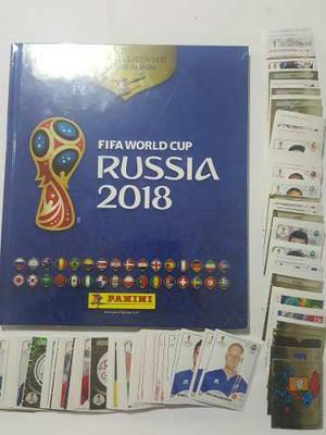 Álbum Pasta Dura +120 Estampas Sin Repetir Fifa Russia