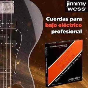 Cuerdas P/bajo Eléctrico Jimmy Wess Jebe-100sl
