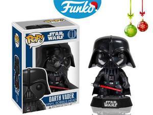Darth Vader Star Wars Funko Pop Navidad Pelicula Sable Rojo