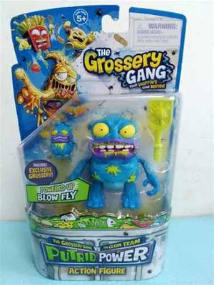 Grossery Gang Serie 3 Blow Fly Putrid Power Figura Exclusiva