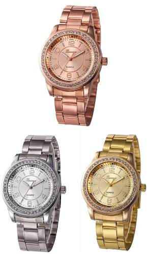 Lote De 10 Reloj Geneva Hombre O Mujer Mayoreo Envio Gratis