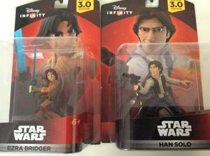 Lote Han Solo Y Ezra Bridger Star Wars - Disney Infinity 3.0