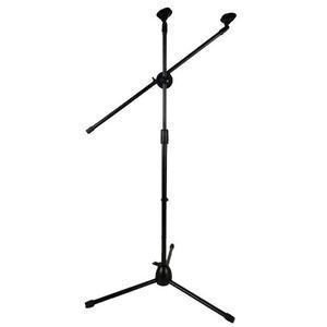 Pedestal Tripie Para Microfono Con Boom Sube Y Baja