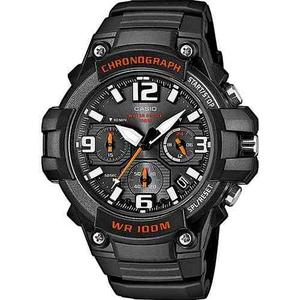 Reloj Casio Mcw100 N Rojo Cronometro Fechador Wr 100m Buceo