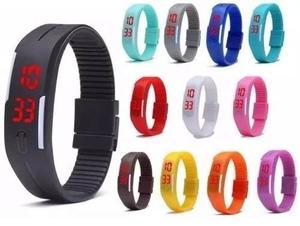 Reloj Digital Silicon Garantizado Colores A Elegir