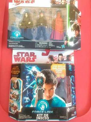 Star Wars Force Link Kit De Inicio + Set De 3 Figuras
