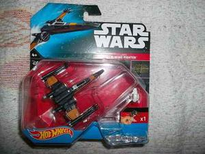 Star Wars X Wing Poe Hot Wheels De Metal