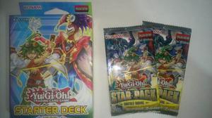 Starter Deck Yuya + 2 Star Pack Yu Gi Oh