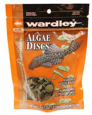 Alimento Para Peces De Fondo 70grs Algae Discs