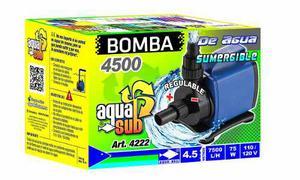 Bomba De Agua Sumergible Aquakril  L/h 4.5m 75w