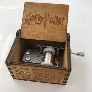 Caja Musical Harry Potter Envio Gratis Madera