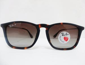 Lentes Ray Ban Chris Rb Carey Cafe Polarizado