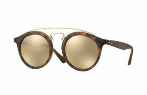 Lentes Ray Ban Rba 49mm Gatsby I Flash Dorado