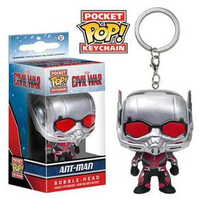Llavero Funko Pop Ant Man Civil War Bobble Original Oferta