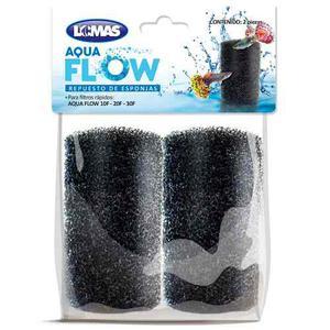 Repuesto Esponja Aquaflow Peces Acuarios Mascotas