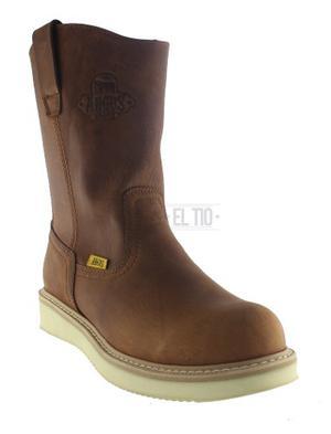 Bota Roper Trabajo  Piel Res Angus Boots Para El Establo