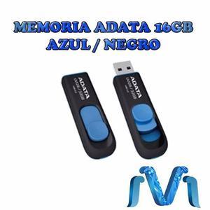 Memoria Adata 16gb Usb 3.0 Uv128 Negro-azul
