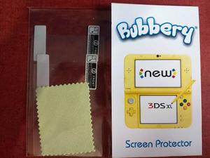 Micas Protectoras De Pantalla New Nintendo 3ds Xl