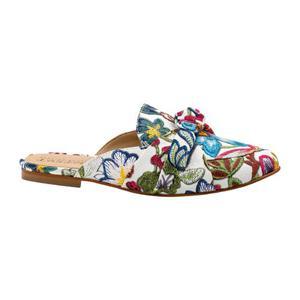 Taguesi Zapatos Suecos Bordado Flores Casual