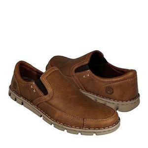 Zapatos Casuales Lobo Solo  Piel Cedro