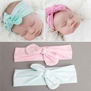 50 Turbantes Para Bebé A Precio De Mayoreo