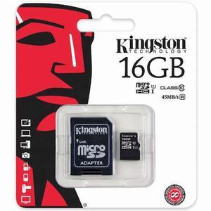 Memoria Micro Sd 16gb Clase10 Kingston Sdc10g2/16gb