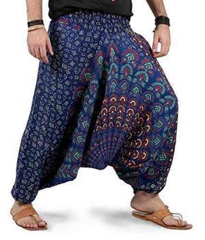 Ths Para Mujer Para Hombre De Yoga Pierna Ancha Boho Hippie