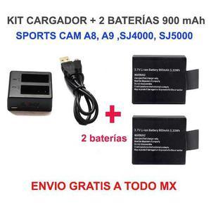 Set Cargador +900 Mah Sj, A8, A9 Envío Gratis