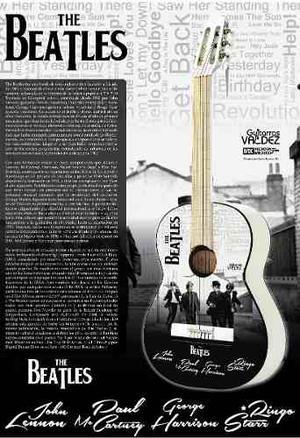 Guitarra Acústica Beatles Paquete Todo Incluido