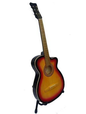 Guitarra Acustica Folk Nuevo Paquete Completo De Accesorios