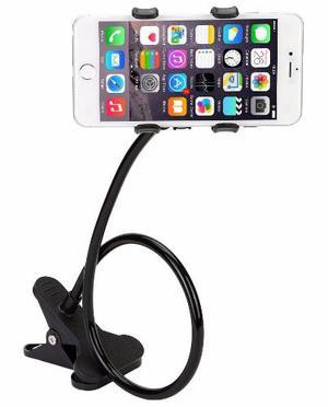 Soporte Flexible Universal Celular Con Pinza Giro 360°